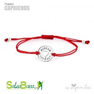 pulseras personalizadas plata